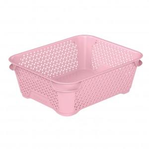 Ящик для хранения mini basket А-6 розовый
