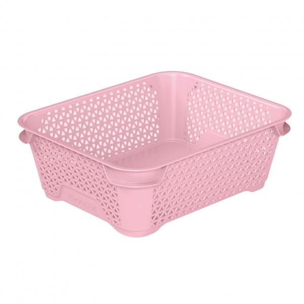 Ящик для хранения mini basket А-6 розовый 1