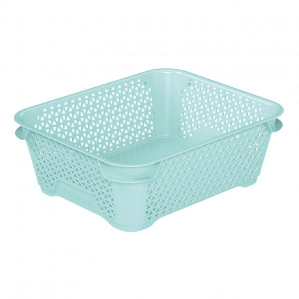 Ящик для хранения mini basket А-6 аквамарин 1
