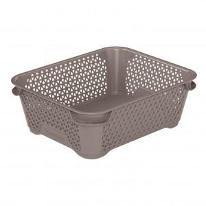 Ящик для хранения mini basket А-6 серо-коричневый