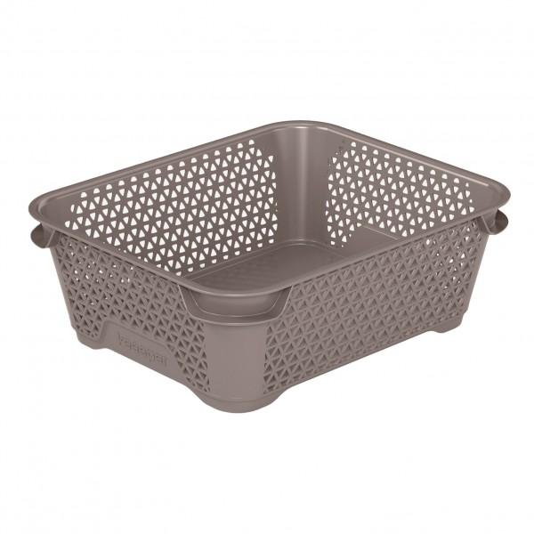 Ящик для хранения mini basket А-6 серо-коричневый 1