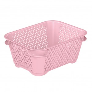 Ящик для хранения mini basket А-7 розовый