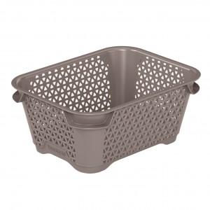 Ящик для хранения mini basket А-7 серо-коричневый
