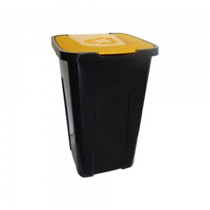 Контейнер для мусора 50л желтый