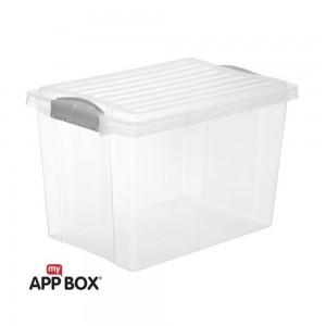 Ящик для хранения А4, 19л COMPACT